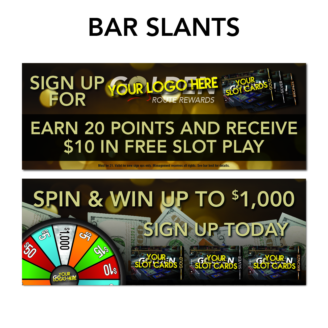 gro route rewards marketing needs bar slants