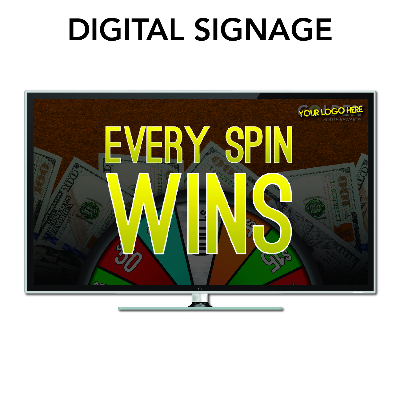 gro route rewards marketing needs digital signage