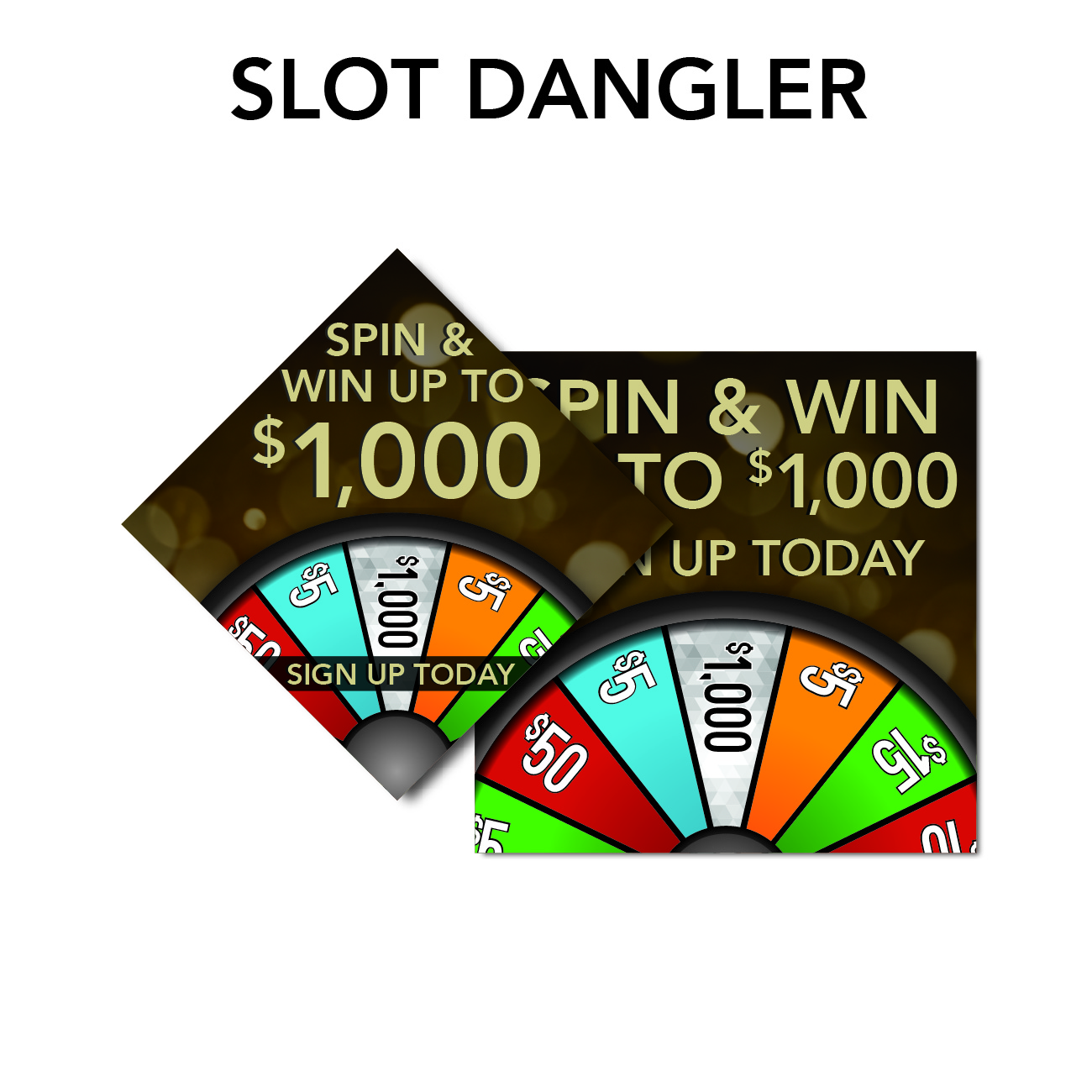 gro route rewards marketing needs slot dangler